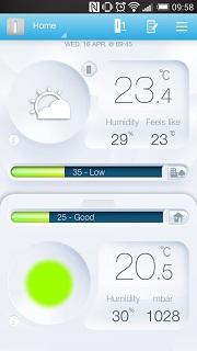 weater app 6